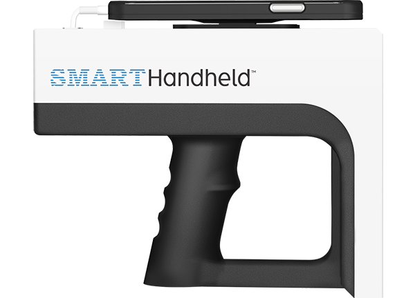 INTRODUCING <br> PLUG-AND-PLAY<br>SMART HANDHELD